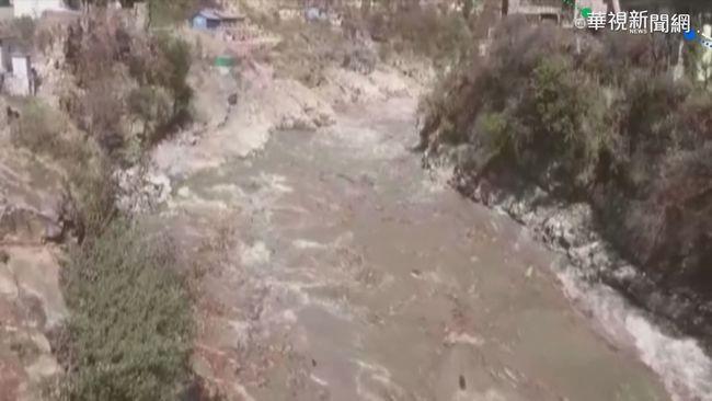 冰川斷裂毀大壩 印度7死150失蹤   華視新聞