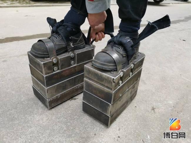 穿150公斤鞋苦練「鐵鞋功」 他狂推:身體有變好 | 華視新聞