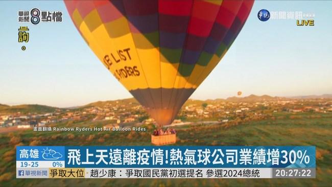 疫情下逆勢成長 熱氣球公司招「機師」 | 華視新聞