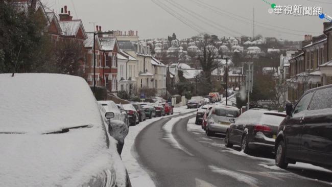 英遇10年來最冷冬天 疫情恐雪上加霜 | 華視新聞