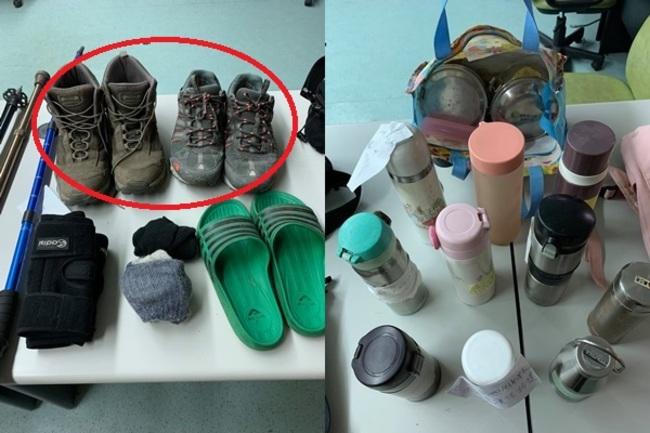 爬玉山連鞋子都忘!塔塔加遊客失物驚見「2雙登山鞋」   華視新聞