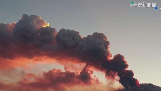 義大利埃特納火山噴發 機場臨時關閉   華視新聞