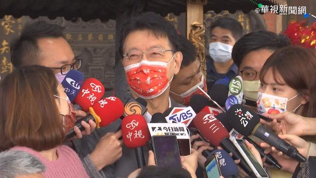 江啟臣宣布角逐連任黨主席 趙少康:祝「造王成功」 | 華視新聞