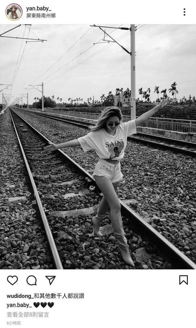 闖鐵軌拍照「小蔡依林」道歉了! 嘆:我做了最壞示範 | 華視新聞