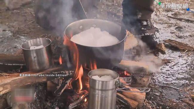 德州暴風雪襲 水管爆裂民眾融冰飲用 | 華視新聞