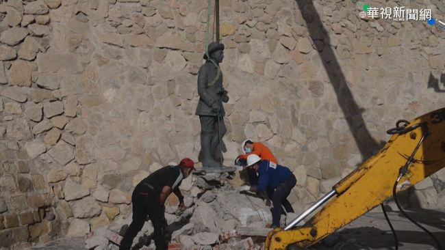 西班牙轉型正義! 移除最後佛朗哥雕像   華視新聞