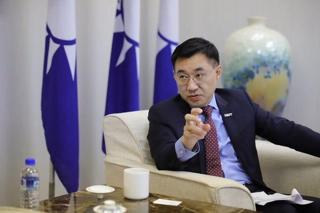 稱中國是台灣主要威脅 國台辦槓上江啟臣   華視新聞