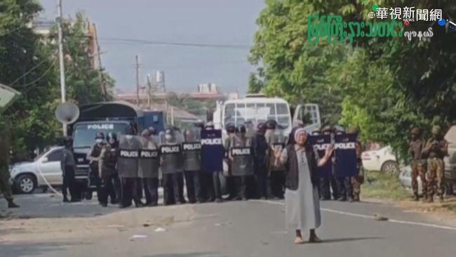對抗軍方政變 緬甸工會號召大罷工 | 華視新聞