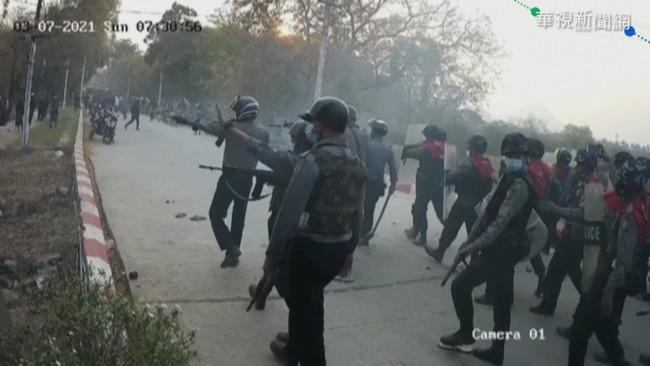 緬甸軍強力掃蕩 攻大學追捕抗爭者 | 華視新聞