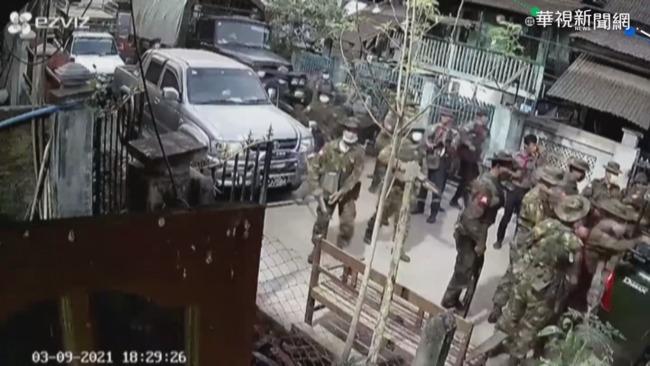 緬鎮壓「不演了」 警抗命流亡印度   華視新聞