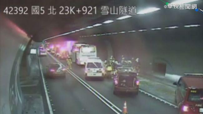 雪隧慢速示警啟用2個月 累積1.8萬台龜速車號被公告 | 華視新聞