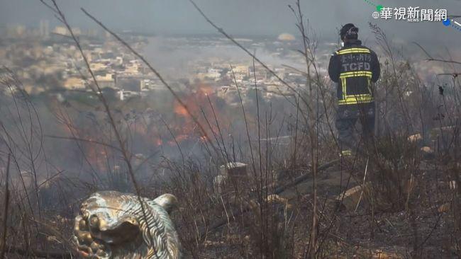 台中兩週231件公墓火警 消防員累壞 | 華視新聞