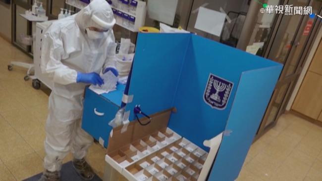 以色列議會選舉登場 新冠患者院內投票 | 華視新聞
