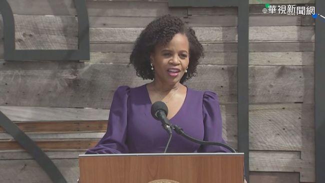 美波士頓首位非裔女市長宣誓就職 | 華視新聞