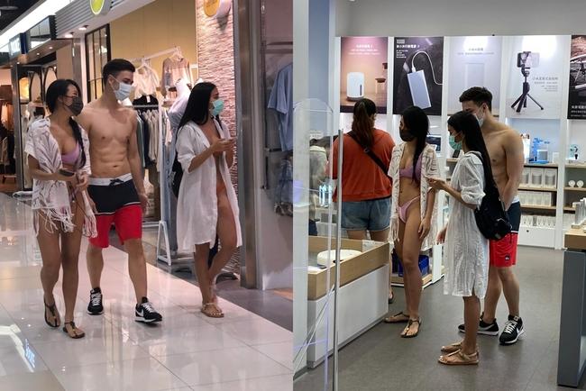 2女1男「超清涼」逛百貨!真實身分曝光 館方回應了 | 華視新聞