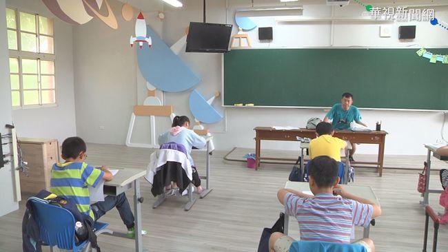 兒童節禮物! 崙背鄉校園打造特色教室 | 華視新聞