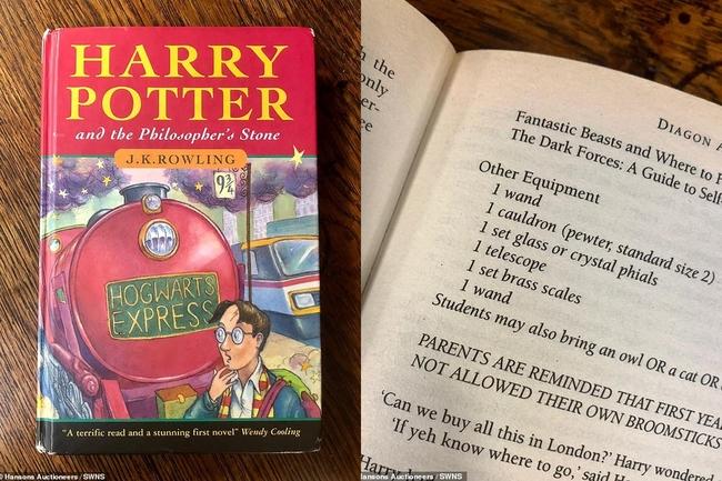 40元買初版《哈利波特》小說 拍賣價格翻升近「3萬倍」   華視新聞