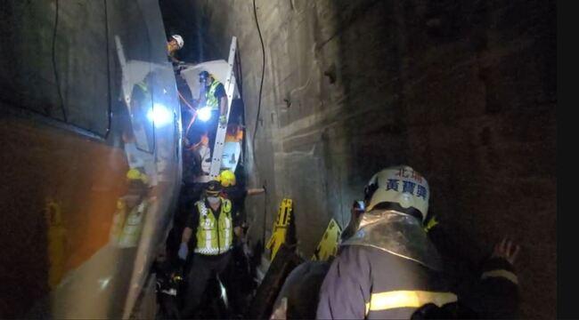 太魯閣號出軌司機員罹難 台鐵證實已無生命跡象 | 華視新聞
