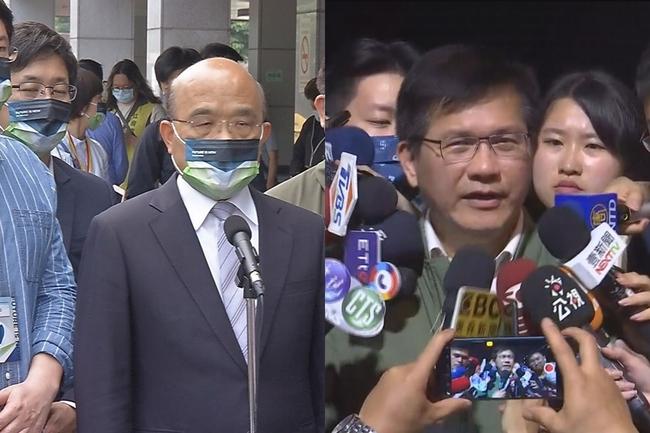 林佳龍傳已向府方、政院口頭請辭 蘇貞昌證實接到電話 | 華視新聞