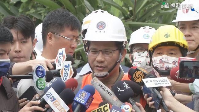 林佳龍宣布辭交通部長 搶救告段落後不會戀棧職位 | 華視新聞