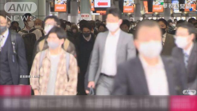外出人潮增加 東京新增249確診 | 華視新聞