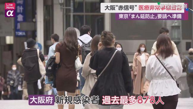 第4波疫情來襲 大阪通天閣疫情亮紅燈 | 華視新聞