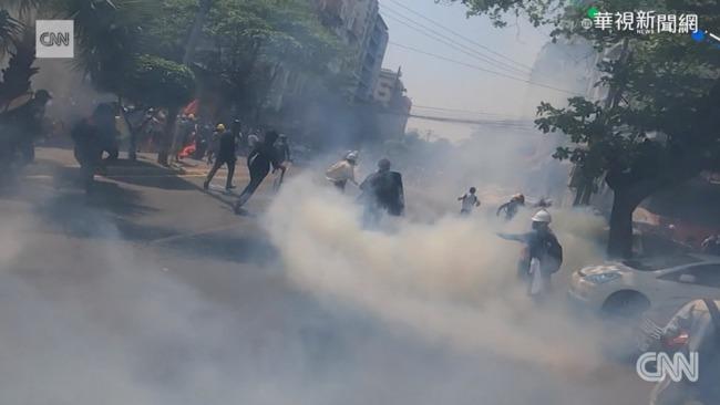 緬甸軍政府鎮壓 逾6百死.3千人被捕 | 華視新聞