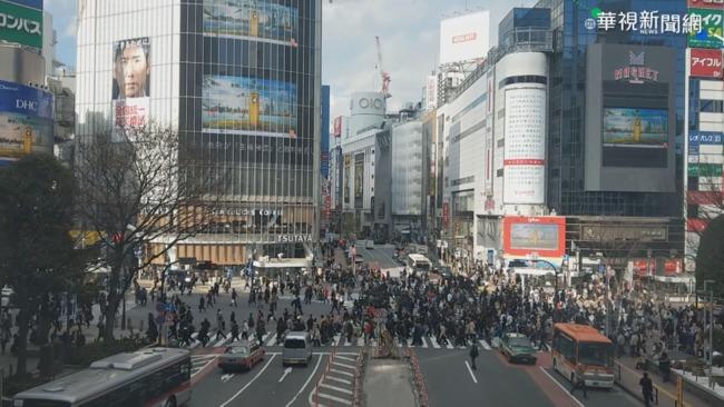 日本「防疫重點措施」沒人理? 東京電車、人潮仍擁擠   華視新聞