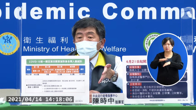 4/21起AZ疫苗可自費接種 專責醫院、費用上限一次看 | 華視新聞