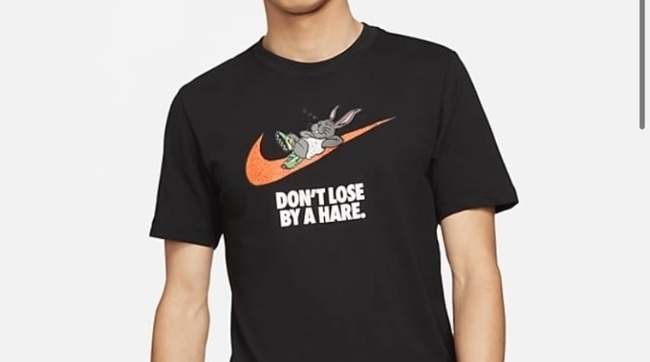 NIKE新T恤「別輸兔子」又辱華了! 中網友再喊抵制 | 華視新聞