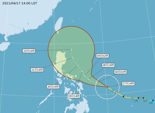 快訊》舒力基轉強颱!下週三將最靠近台灣   華視新聞