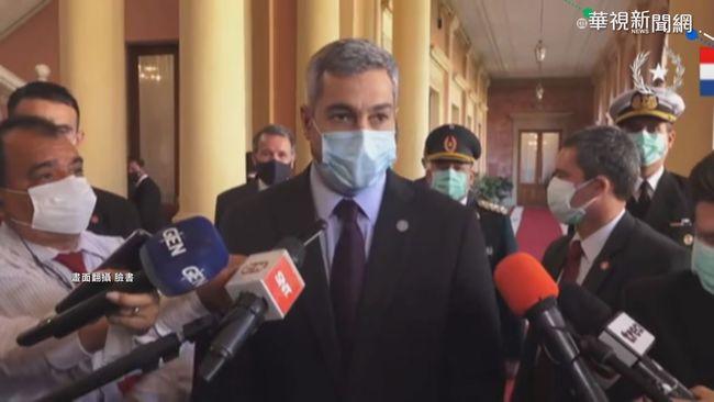 拒絕中外交勒索! 巴拉圭採購印度疫苗   華視新聞