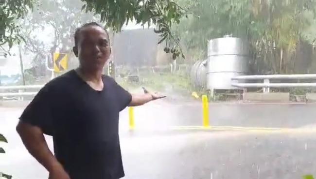3縣市大雨特報...屏東霧台下最多 居民嗨「終於下雨了」 | 華視新聞