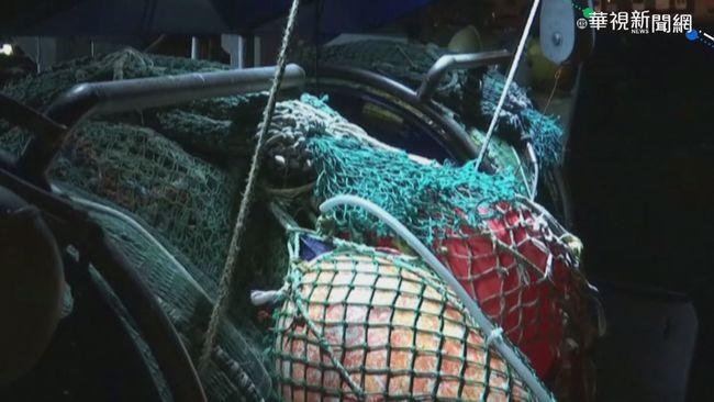法漁民燒雜物占港口 抗議英遲發執照 | 華視新聞