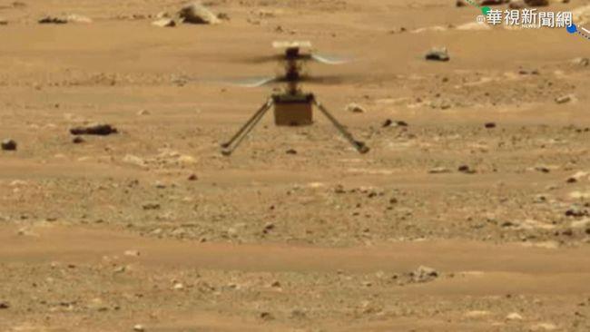無人機「創新號」 二度成功火星飛行 | 華視新聞