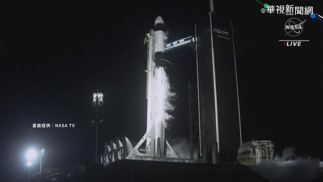 震撼直擊! SpaceX「奮進號」載4太空人升空 | 華視新聞