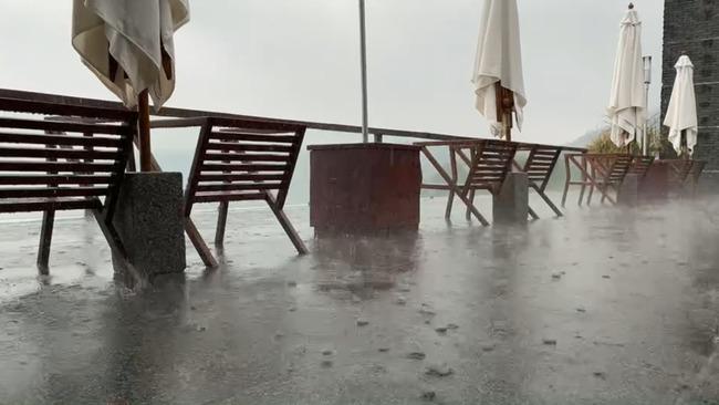 南投日月潭又下大雨! 時雨量最高19.5毫米 | 華視新聞