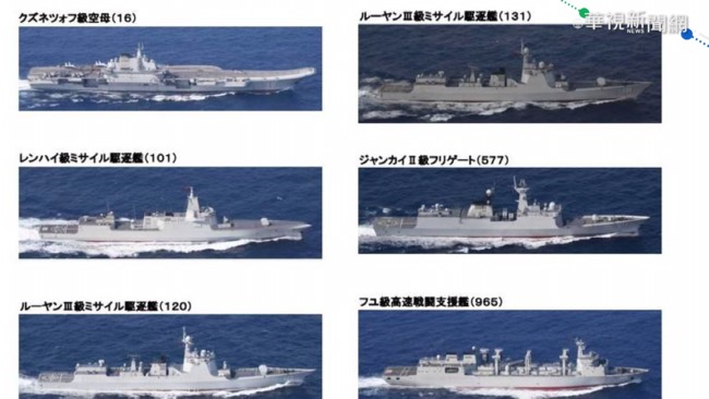 遼寧號再過東海 日自衛隊全程監視 | 華視新聞