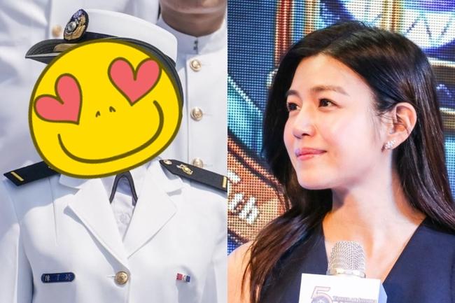 海軍女少尉激似陳妍希 千人按讚:戀愛了! | 華視新聞