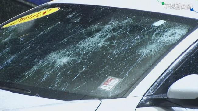 驚! 美遭冰雹侵襲 車窗.房屋遭砸大洞   華視新聞