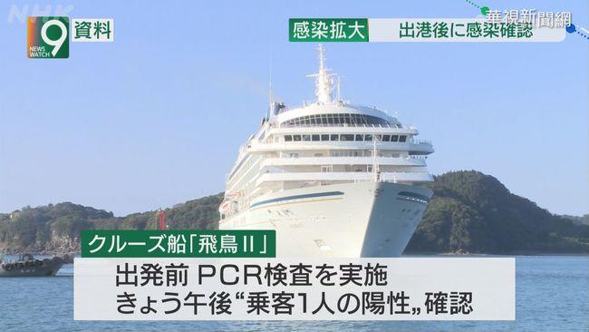 日郵輪飛鳥2號1旅客確診 返橫濱港檢疫 | 華視新聞