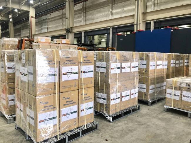 外交部:我國捐印度首批抗疫物資預計11點抵達   華視新聞