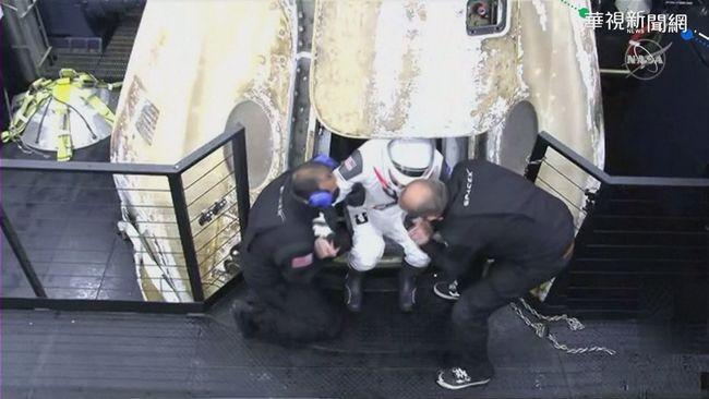 完成167天任務 SpaceX載4太空人返地球 | 華視新聞
