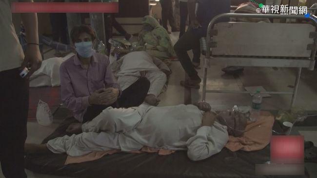疫情重創印度 CNN記者直擊現場慘況   華視新聞