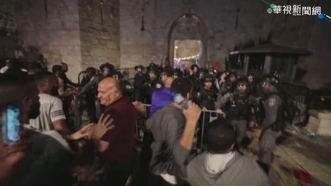 以巴緊張持續升溫 警民衝突184人傷 | 華視新聞