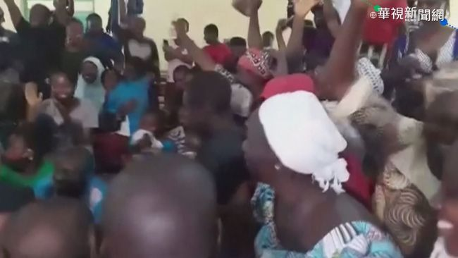 驚魂2個月! 29名奈及利亞學生遭綁獲釋 | 華視新聞