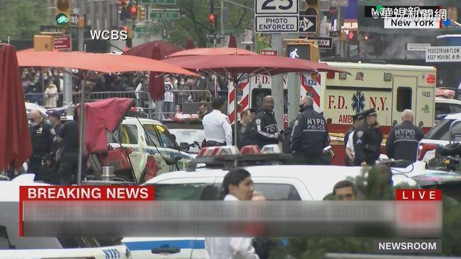 紐約時報廣場驚傳槍響 1婦人1童傷 | 華視新聞