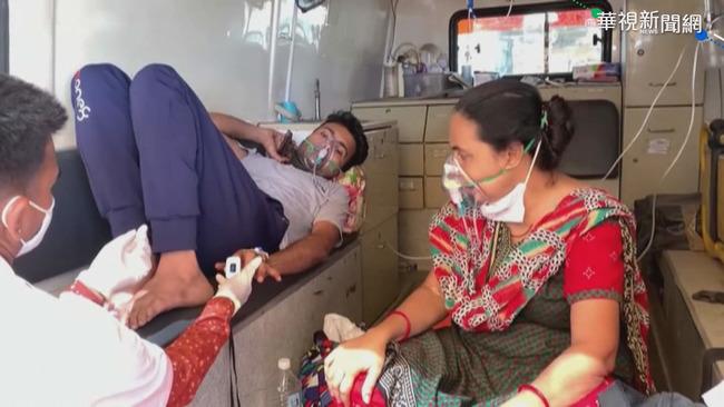 疫情嚴峻! 我駐印度代表處增1人確診共7人染疫   華視新聞
