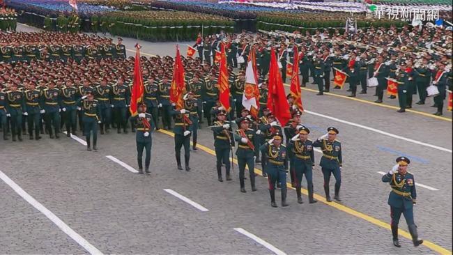 慶祝衛國戰爭勝利 俄羅斯紅場閱兵   華視新聞