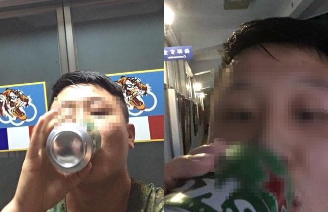 阿兵哥營區「露臉喝酒自拍」嗆長官...千人一看急上香   華視新聞
